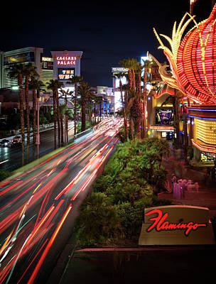 Photograph - Vegas Nights Iv by Ricky Barnard