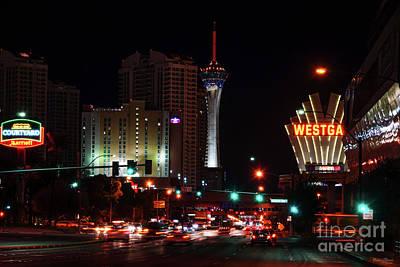 Photograph - Vegas Paradise Road by Jennifer White