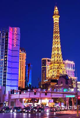 Photograph - Vegas Strip At Night by John Rizzuto