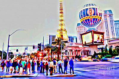 Photograph - Vegas Strip by Beauty For God