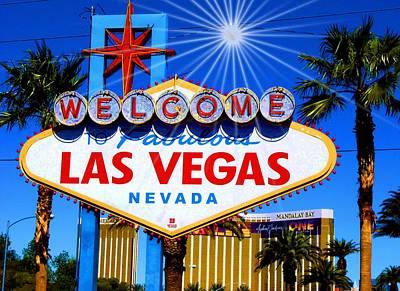 Photograph - Vegasstrong by Dietmar Scherf