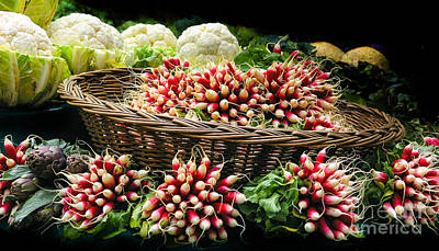 Vegetable At Market In Paris  Original