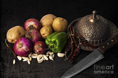 Photograph - Vegetables by Charuhas Images