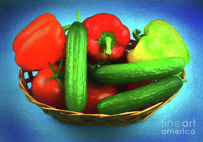 Photograph - Vegetables For Health And Art 1918-1 by Ray Shrewsberry