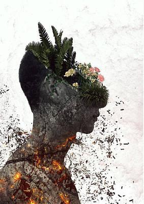 Vegetation, Alternative Print by Connor Sorhaindo
