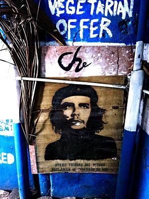 Photograph - Vegeterian Che Guevara In Havana Cuba by Funkpix Photo Hunter