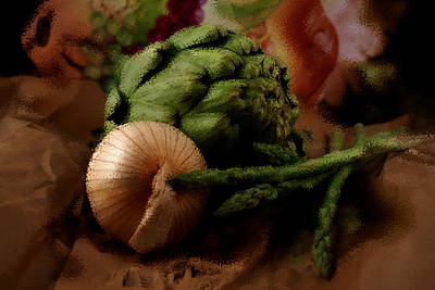 Veggies Original by Helyn Broadhurst Cornille