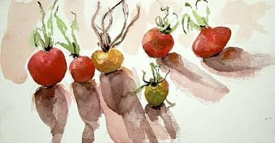 Painting - Veggies by Kathleen Barnes
