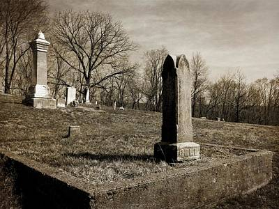 Photograph - Vegors Cemetery by Kyle West