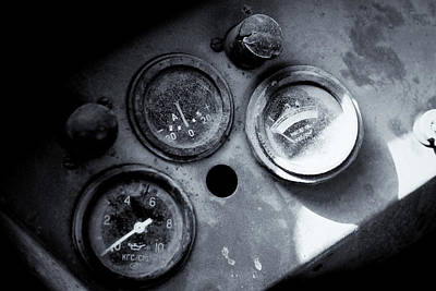 Photograph - Vehicle Dials In Dust by John Williams