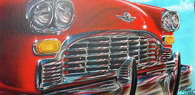 Painting - Vehicle- Grill by Shawn Palek