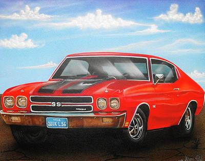 Painting - Vehicle- Nova by Shawn Palek