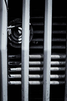Photograph - Vehicle Radiator Abstract II by John Williams