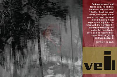 Veil A Art Print