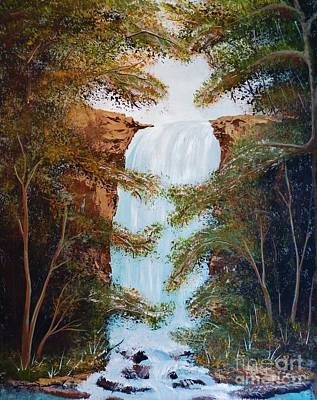 Painting - Veil Falls by Tim Townsend