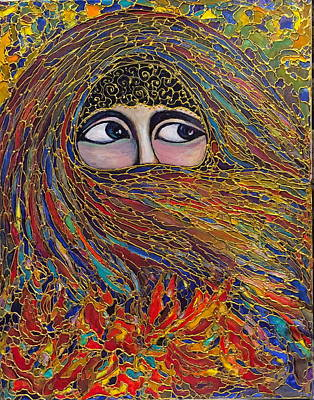 Painting - Veiled by Rae Chichilnitsky
