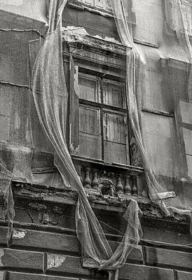 Photograph - Veiled Window by Michael Kirk