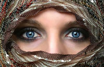 Hijab Fashion Photograph - Veiling by Gary Yost
