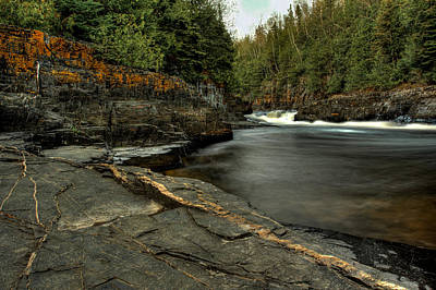 Current River Photograph - Veins I by Jakub Sisak