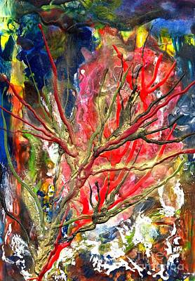 Encaustic Painting - Veins Of Promise by Heather Hennick