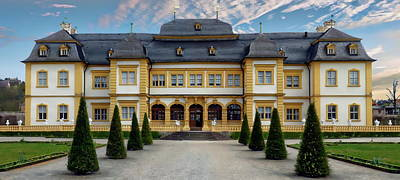 Photograph - Veitshochheim Palace by Anthony Dezenzio