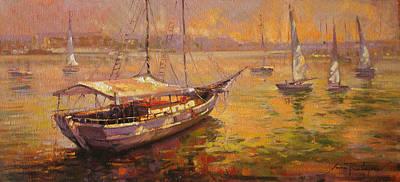 Quadro Painting - Veleiro by Sousa Rodrigues
