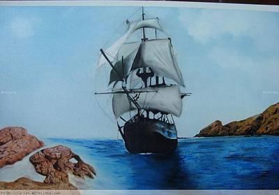 Painting - Velero by Luis Carlos A