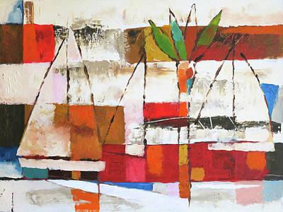 Colorplay Painting - Veleros by Lutz Baar