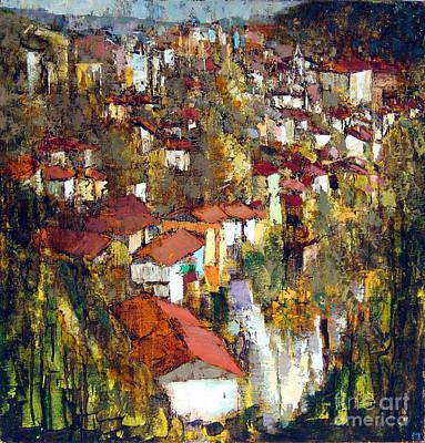Veliko Tarnovo - Panorama Art Print by Michael Stoyanov