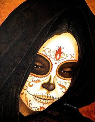 Honor Painting - Velo De Recuerdo  by Al  Molina