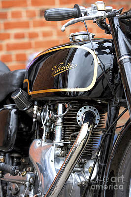 Venom Photograph - Velocette Thruxton  by Tim Gainey