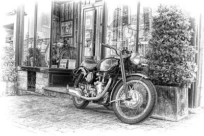 Venom Photograph - Velocette Venom Clubman by Tim Gainey