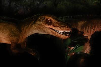 Velociraptor Digital Art - Velociraptor by Lori Deiter