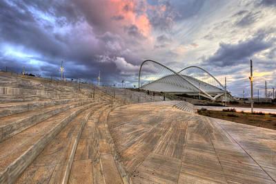 Velodrome Photograph - Velodrome Stadium In Oaca by Milan Gonda