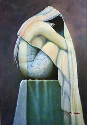 Velo Painting - Velos by Carlos Patricio Valdes Cavada
