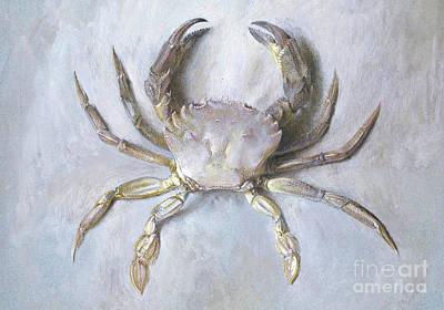 Velvet Crab Art Print