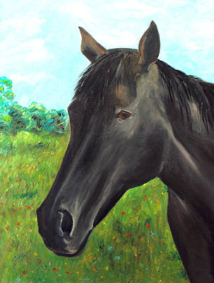 Painting - Velvet by Elizabeth Lock