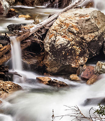 Velvet Falls - Rocky Mountain Stream Art Print