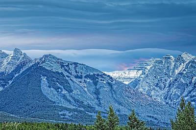 Velvet Sky Over Fairholme Range Original