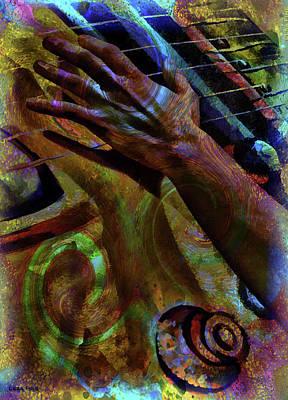Photograph - Velvet Strum Sound by Lesa Fine