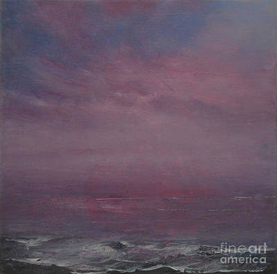 Painting - Velvet Sunset by Jane See