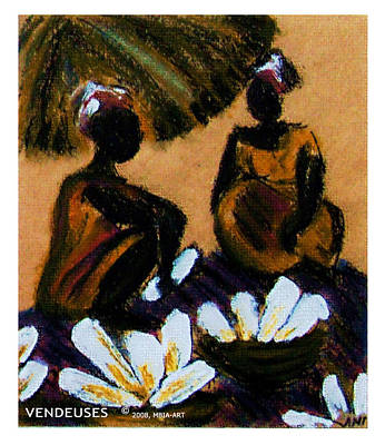 Pastel - Vendeuses by Isabelle Mbore