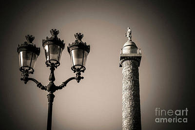 Vendome Column. Paris. France. Art Print