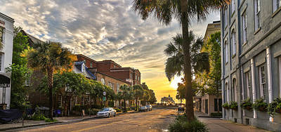 Photograph - Vendue St. Charleston Sc by Donnie Whitaker
