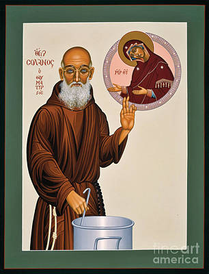 Painting - Venerable Fr. Solanus Casey The Healer 038 by William Hart McNichols