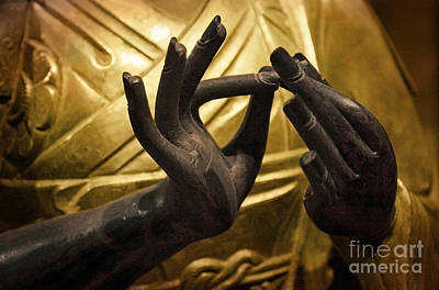 Photograph - Venerable Hands by Ellen Cotton