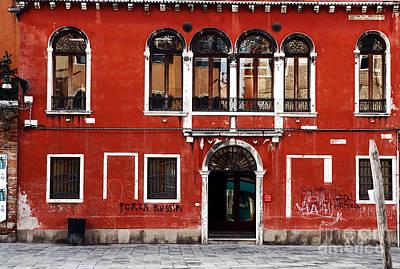 Venetian Architecture Art Print by John Rizzuto