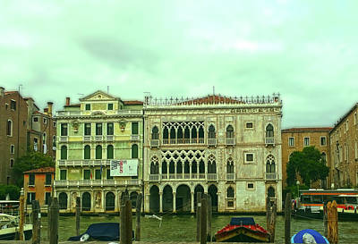 Photograph - Venetian Aternoon by Anne Kotan