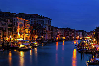 Cafe Photograph - Venetian Blue by Andrew Soundarajan