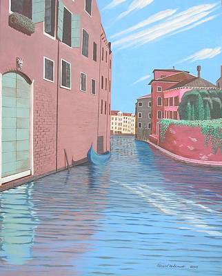 Painting - Venetian Canal by Edward Maldonado